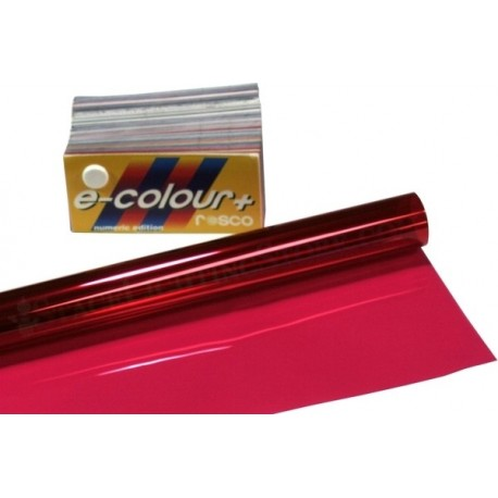 Rosco E-Colour 111 Dark Pink - T8 36in. Roscosleeve Gel