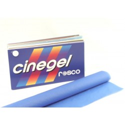 Rosco Cinegel 3072 Half Blue Silent Dyed Grid Cloth - T5 36in. Roscosleeve Gel