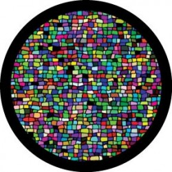 Rosco HD Plastic Gobo - Mosaic Tiling Break Up