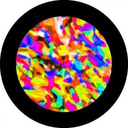 Rosco HD Plastic Gobo - Multicolor Mixit