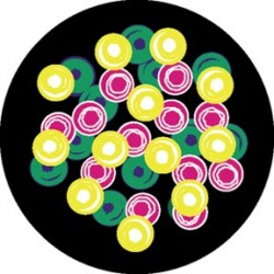 Rosco HD Plastic Gobo - Bubbles
