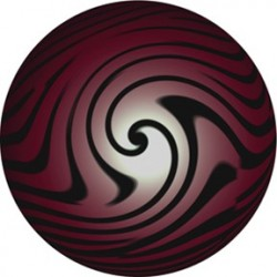 Rosco HD Plastic Gobo - Blood Marble