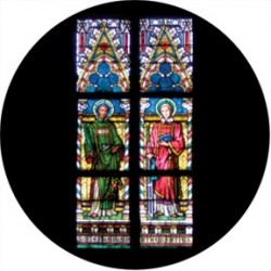 Rosco HD Plastic Gobo - Liturgical Stained Glass