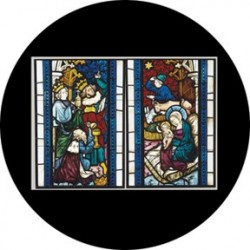 Rosco HD Plastic Gobo - Nativity Stained Glass