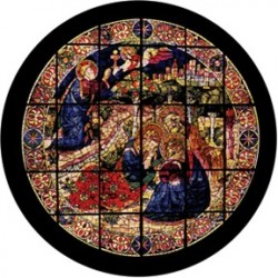 Rosco HD Plastic Gobo - Devotional Stained Glass 2