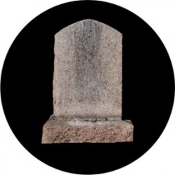 Rosco HD Plastic Gobo - Headstone