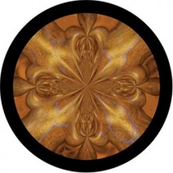 Rosco HD Plastic Gobo - Quicksilver Gold