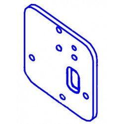 Altman 360Q Socket Mounting Plate Square Rev A