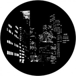 Rosco HD Plastic Gobo - City Nightscape