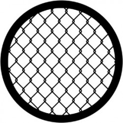 Rosco HD Plastic Gobo - Wire Fence