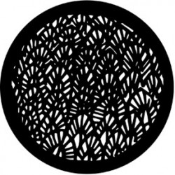 Rosco HD Plastic Gobo - Abstract Leaves