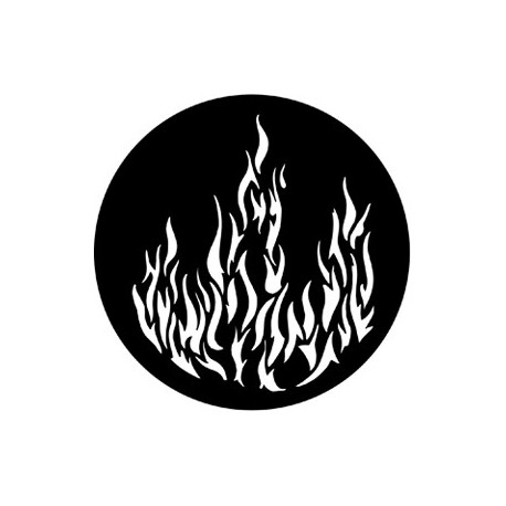 Rosco HD Plastic Gobo - Flames 1