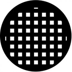 Rosco HD Plastic Gobo - Basket Weave