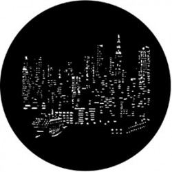 Rosco HD Plastic Gobo - NYC Skyline