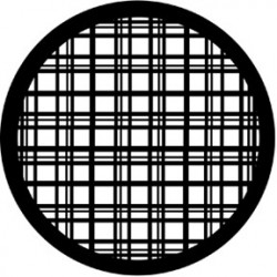 Rosco HD Plastic Gobo - Plaid
