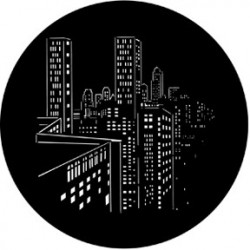 Rosco HD Plastic Gobo - Skyscrapers