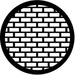 Rosco HD Plastic Gobo - Bricks