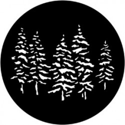 Rosco HD Plastic Gobo - Pines