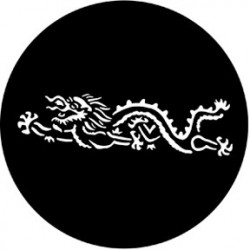 Rosco HD Plastic Gobo - Chinese Dragon