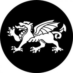 Rosco HD Plastic Gobo - Dragon