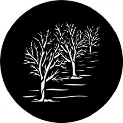 Rosco HD Plastic Gobo - Three Trees