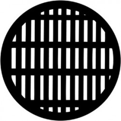 Rosco HD Plastic Gobo - Grating