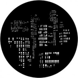 Rosco HD Plastic Gobo - City Lights