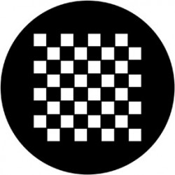 Rosco HD Plastic Gobo - Chessboard