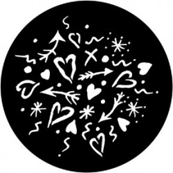 Rosco HD Plastic Gobo - Love