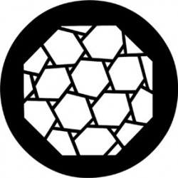 Rosco HD Plastic Gobo - Hexagons