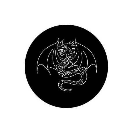 Rosco Hd Plastic Gobo Dragon Tattoo Stage Lighting Store