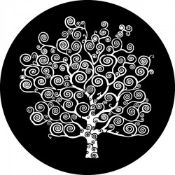Rosco HD Plastic Gobo - Klimt Tree