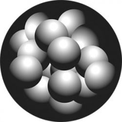 Rosco HD Plastic Gobo - Atoms