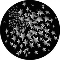 Rosco HD Plastic Gobo - Star Fusion