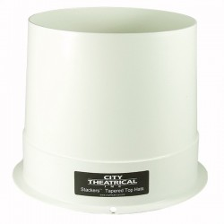 City Theatrical Stackers 6 1/4in. Full Top Hat - White