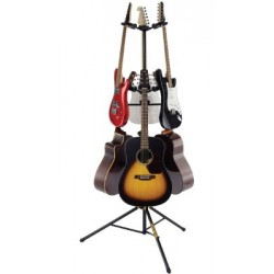 Hercules 6 Piece Folding Yoke AGS Guitar Stand
