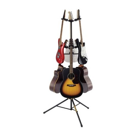 hercules 6 piece folding yoke ags guitar stand stage lighting store. Black Bedroom Furniture Sets. Home Design Ideas