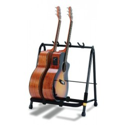 Hercules Guitar Display Rack - 3 Yokes w/ Pick Slots