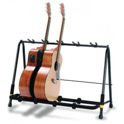 Hercules Guitar Display Rack - 5 Yokes w/ Pick Slots