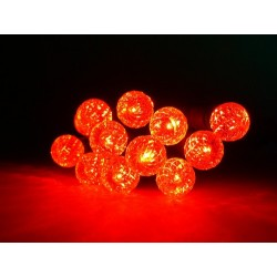 Fortune Accents Mini LED String Lights - Battery Powered - Red