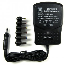 Fortune Switching Power Adapter 3V-12V