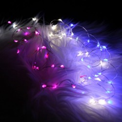 Fortune Fantasia Fairy Lights - 91 LED String - Pink