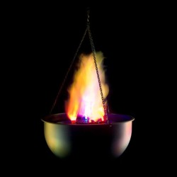 Fortune 10in. Cauldron Flame Replacement Silk