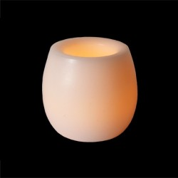 Fortune Wax Barrel Votive Candle - 2in.