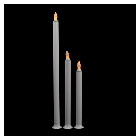 Fortune LED Taper Candle - 10in.