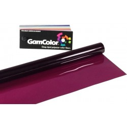 Rosco GamColor 100 Gypsy Pink - 20in. x 24in. Sheet
