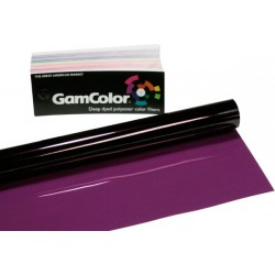 Rosco GamColor 103 Blue Rose - 20in. x 24in. Sheet