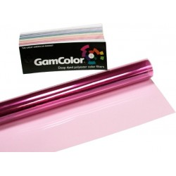 Rosco GamColor 107 1/4 Antique Rose - 20in. x 24in. Sheet