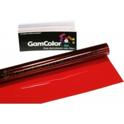 Rosco GamColor 290 Fire Orange - 24in. x 50' Roll