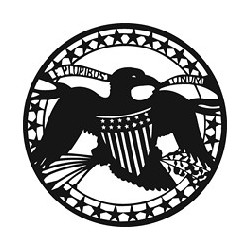 Rosco GAM Steel Gobo - Eagle with Crest